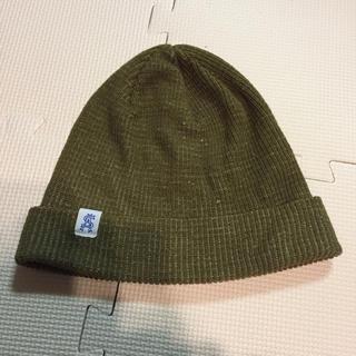 c015eb4e5d39e スティーブンアラン(steven alan)のスティーブンアラン ニット帽 カーキ サイズフリー(ニット