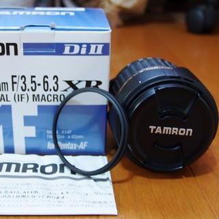 Pentax用TAMRON AF18-200mm F3.5-6.3中古