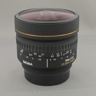 シグマ(SIGMA)のシグマ ニコン用8mmF3.5EX DG FISHEYE(レンズ(単焦点))