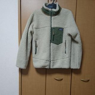 パタゴニア(patagonia)のパタゴニア レトロX キッズ XL 新品 グリーン patagonia(ジャケット/上着)