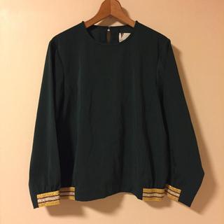 オキラク(OKIRAKU)の【限定SALE】OKIRAKU×ROSE BUD - line jersey(カットソー(長袖/七分))
