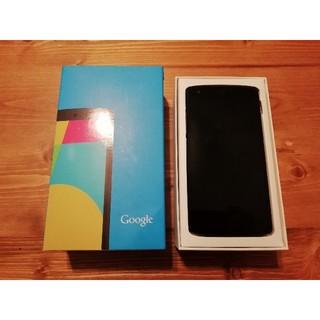 エルジーエレクトロニクス(LG Electronics)のnexus5 LG-D821 ymobile 32GB(スマートフォン本体)