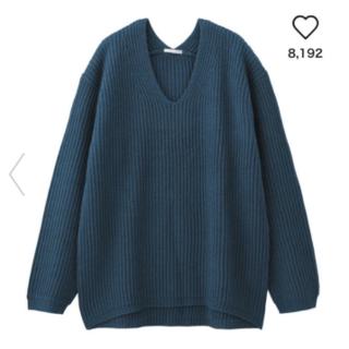 ジーユー(GU)のGU人気リブニット(ニット/セーター)