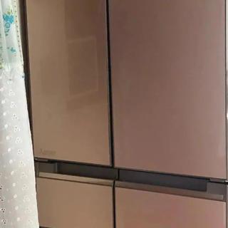 三菱 6ドア 冷蔵庫 美品(冷蔵庫)