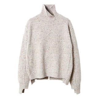 ルシェルブルー(LE CIEL BLEU)のルシェルブルー★color nep knit tops(ニット/セーター)