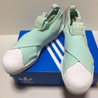 アディダス(adidas)の新品未使用 スリッポン スーパースター アディダス 25.5 スニーカー(スリッポン/モカシン)