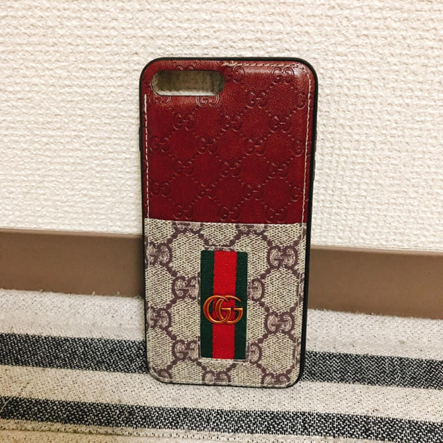 givenchy iphone8 カバー 激安 | Gucci - GUCCI iPhone7pulsケースの通販 by り's shop|グッチならラクマ