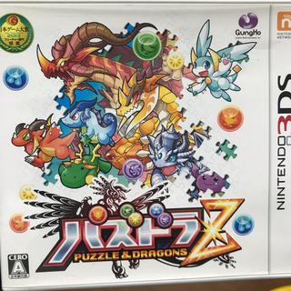 ニンテンドー3DS(ニンテンドー3DS)の【3DSカセット】パズドラZ(携帯用ゲームソフト)