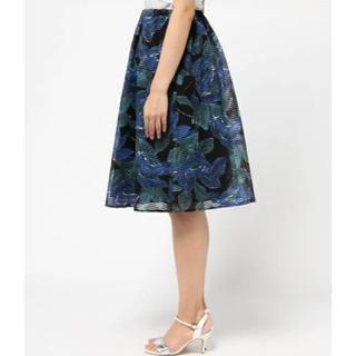 アングローバルショップ(ANGLOBAL SHOP)のFORDMILLS フォードミルズ  フラワースカート(ひざ丈スカート)