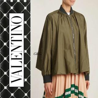 ヴァレンティノ(VALENTINO)の新品 バレンティノ  VALENTINO オーバーサイズ シルクジャケット(テーラードジャケット)