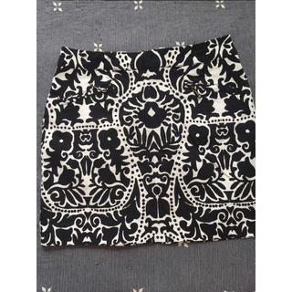 エイチアンドエム(H&M)の再出品 H&M スカート 柄 個性的 モノトーン(その他)