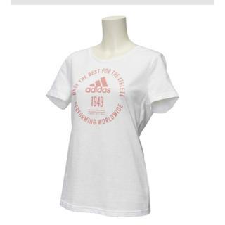 アディダス(adidas)のadidas Tシャツ レディース Mサイズ(Tシャツ(半袖/袖なし))