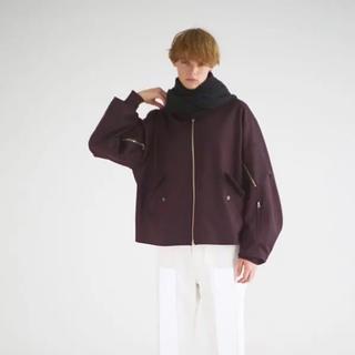 UNUSED - uru 17aw フライトジャケット