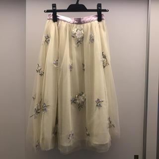 トッコ(tocco)のtocco チュールスカート(ひざ丈スカート)