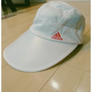 アディダス(adidas)の〈✨年内最終値下げ❕〉【adidas】サンバイザー ランニング帽子(キャップ)
