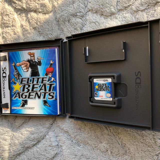 ニンテンドーDS(ニンテンドーDS)のELITE BEAT AGENTS エリートビートエージェント エンタメ/ホビーのゲームソフト/ゲーム機本体(携帯用ゲームソフト)の商品写真