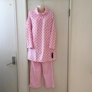 しまむら - 【新品】授乳口付き 産前産後 フリース パジャマ しまむら ピンク