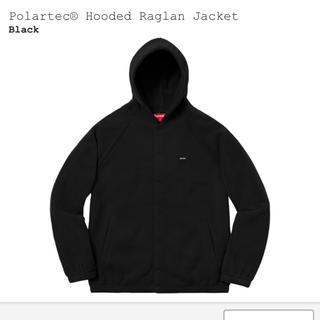 シュプリーム(Supreme)のsupreme polartec hooded raglan jacket(ブルゾン)