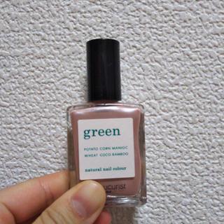 グリーン(green)の【ほぼ未使用】ナチュラルネイル(マニキュア)
