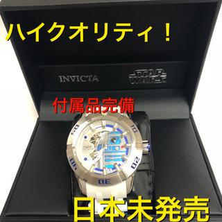 ディズニー(Disney)の●日本未発売 メンズ スターウォーズ R2D2 付属品完備!インヴィクタ(腕時計(アナログ))