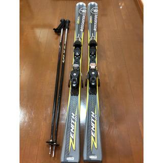 ロシニョール(ROSSIGNOL)のロシニョール ゼニス SX  スキー板  156cm  美品(板)