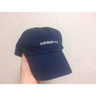 アディダス(adidas)のadidas キャップ ネイビー(キャップ)