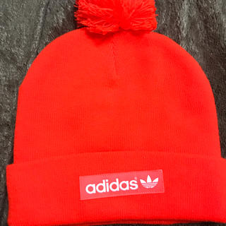 アディダス(adidas)のアディダス オリジナルス ニット帽(ニット帽/ビーニー)