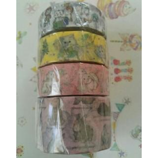フランシュリッペ(franche lippee)のフランシュリッペ/マスキングテープセット  4種類(テープ/マスキングテープ)