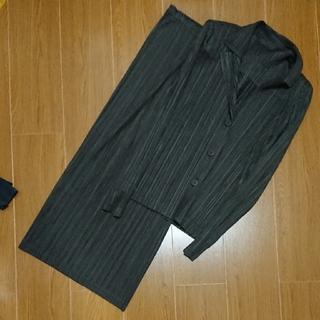 プリーツプリーズイッセイミヤケ(PLEATS PLEASE ISSEY MIYAKE)のプリーツプリーズ スーツ(ロングスカート)