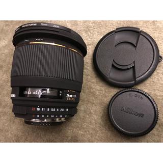 シグマ(SIGMA)のsigma 24mm f1.8 EX DG ニコン フルサイズ対応(レンズ(単焦点))