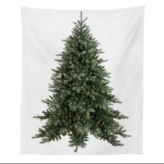 クリスマスツリー タペストリー もみの木 150cm