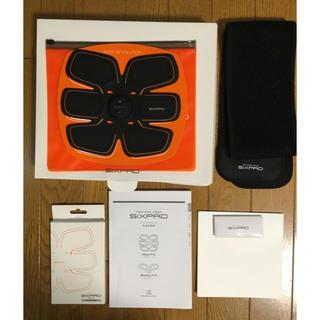 シックスパック(SIXPACK)の正規品 SIXPADアブズフィット 美品(トレーニング用品)