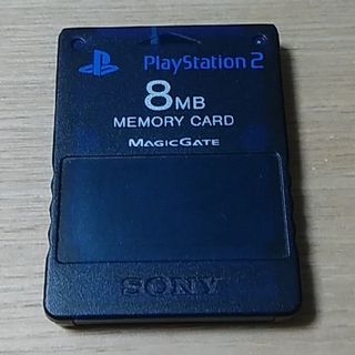 プレイステーション2(PlayStation2)のプレイステーション2 メモリーカード(家庭用ゲーム本体)