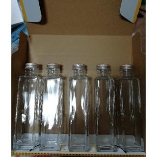 ハーバリウム瓶、四角瓶150ml (その他)