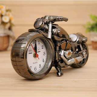 カッコよくインテリア☆オートバイ時計 置き時計 インテリア時計 バイク(タオル/バス用品)