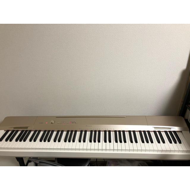 CASIO(カシオ)のCASIO Privia PX-160GD シャンパンゴールド 88鍵盤 楽器の鍵盤楽器(電子ピアノ)の商品写真