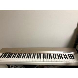 カシオ(CASIO)のCASIO Privia PX-160GD シャンパンゴールド 88鍵盤(電子ピアノ)