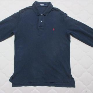 ポロラルフローレン(POLO RALPH LAUREN)のポロ ラルフローレン Ralph Lauren 長袖 ポロシャツ 紺 サイズM(ポロシャツ)