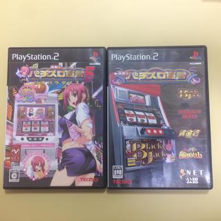 プレイステーション2(PlayStation2)のPS2 ソフト パチスロ宣言 2本セット Rioパラダイス ブラックジャック (家庭用ゲームソフト)