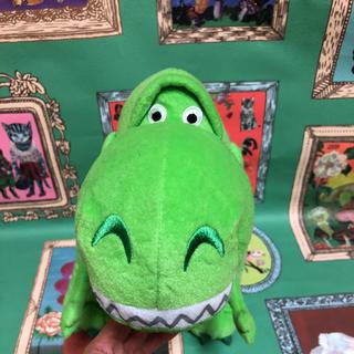 トイストーリー(トイ・ストーリー)のトイストーリー レックス 特大ぬいぐるみ 恐竜 ティラノサウルス 緑 可愛い (ぬいぐるみ)
