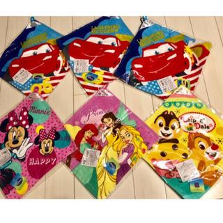 ディズニー(Disney)の【新品】タオル ループ ディズニー カーズ  プリンセス チップ ミニー(その他)