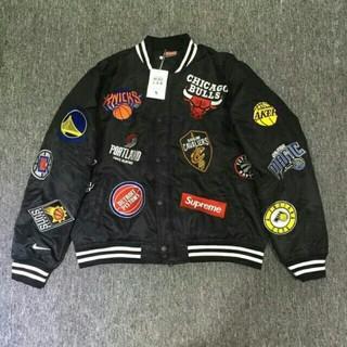 シュプリーム(Supreme)のsupreme Nike NBA 18SS Teams Jacket(スタジャン)