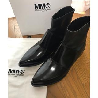 マルタンマルジェラ(Maison Martin Margiela)のマルタンマルジェラ MM6 アンクルブーツ 40(ブーツ)