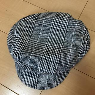 ジーユー(GU)のチェックキャスケット帽(キャスケット)