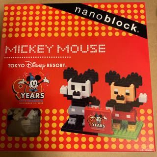 Disney - ディズニーリゾート限定   90周年ミッキー  ナノブロック  入手困難