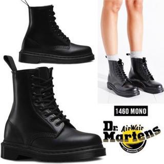 ドクターマーチン(Dr.Martens)の12/24まで!Dr. Martens 1460 mono blackブーツ (ブーツ)