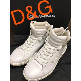 DOLCE&GABBANA - ドルチェ&ガッバーナ シューズ  靴 スニーカー ハイカット 新品  正規品