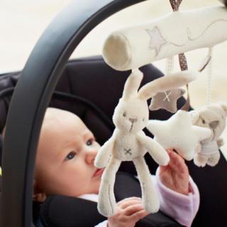【大特価】コットン製 メリー 音楽 赤ちゃん おもちゃ 祝い プレゼント(オルゴールメリー/モービル)