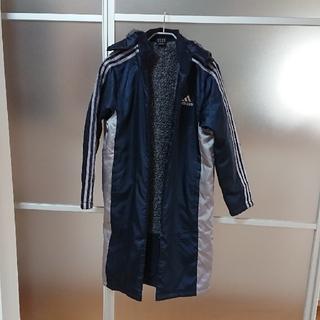 アディダス(adidas)のアディダス  ベンチコート サイズ160 紺色(その他)
