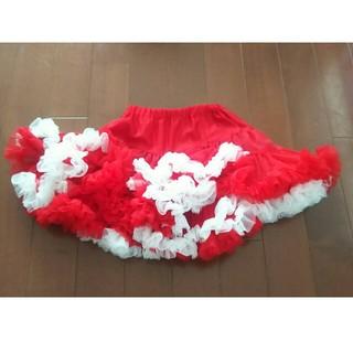 マッドパイ(Mud Pie)のmud pie マッドパイ チュチュフリルスカート used クリスマス(スカート)